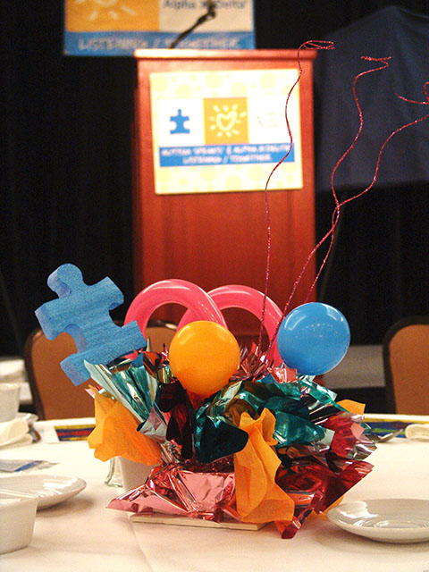 Autism Speaks Centerpieces 2