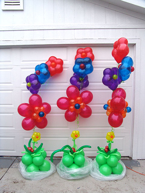 Balloon Flower Bouquets