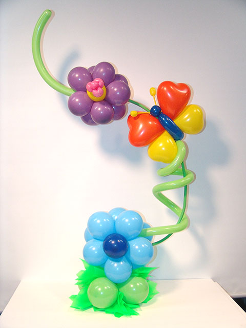Balloon Flower Centerpiece