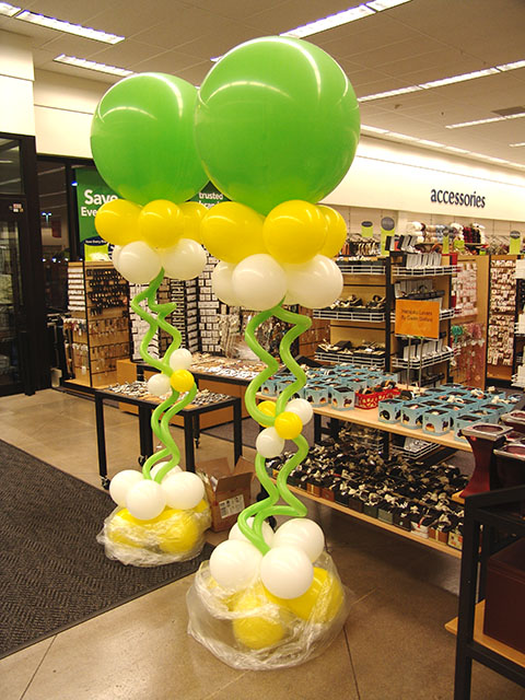 Fun and Funky balloon columns 3