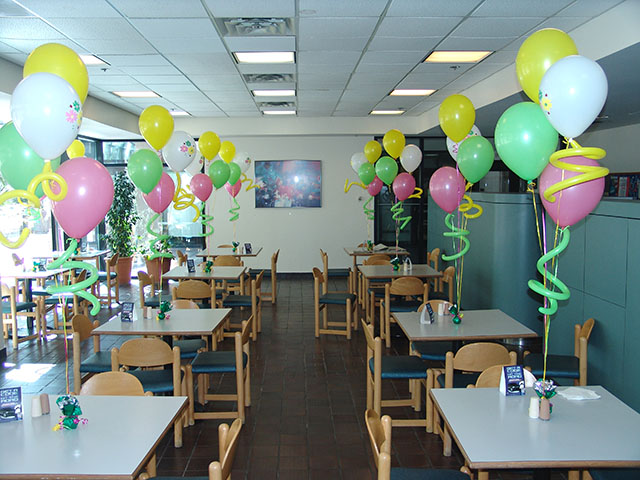 Spring Balloon Bouquets