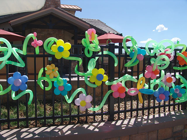 Twisted Balloon Flowers