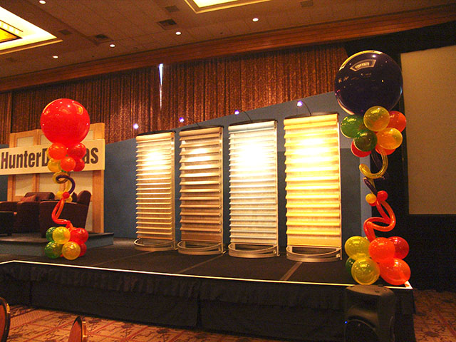 Fun and Funky balloon columns 4