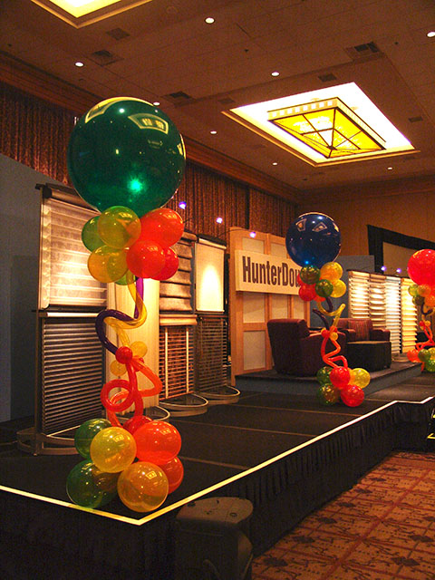 Fun and Funky balloon columns 5