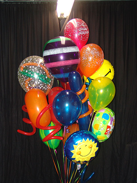 balloon birthday bouquet delivery 2