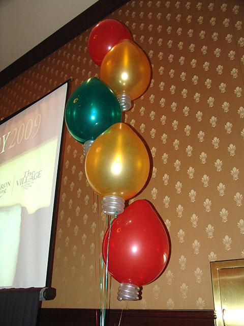 Christmas balloons denver