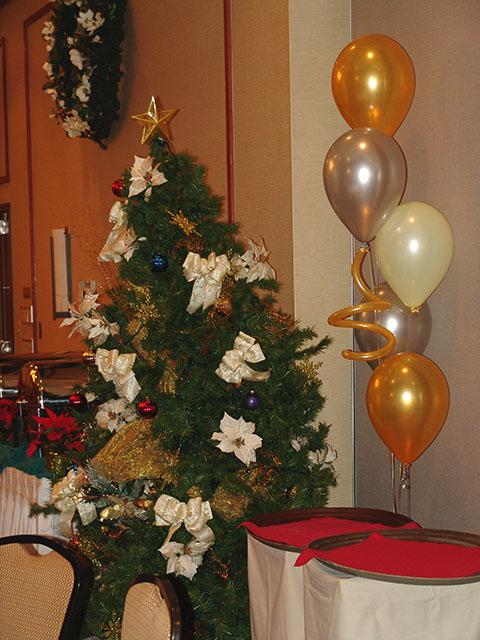 christmas party balloons denver