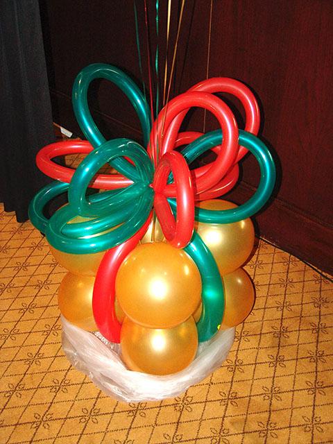 christmas presents balloons denver