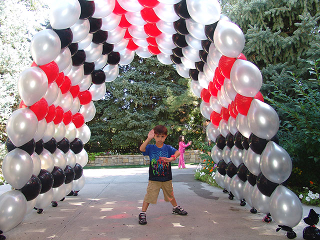 Link O Loon Balloon Arch 2