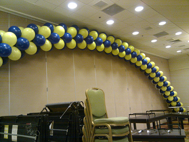 large balloon arch denver