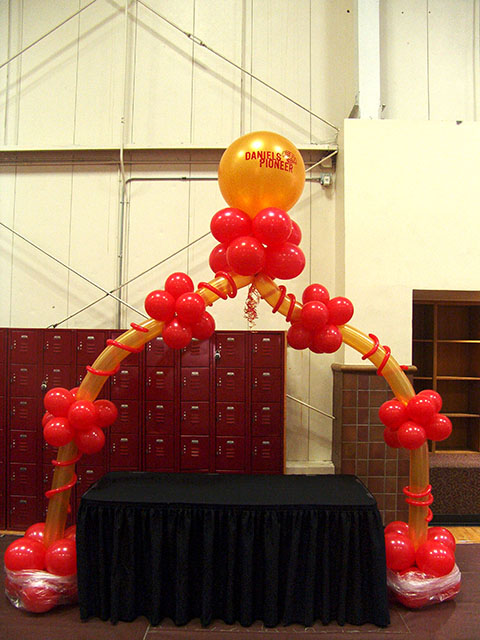 custom du balloon arches denver