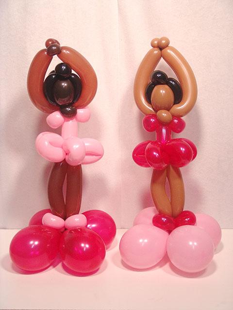 twisted ballerina balloons denver