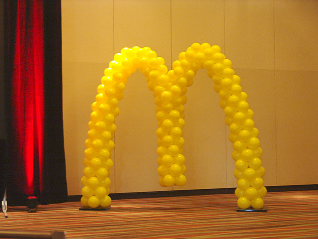 twisted mcdonalds balloons in denver