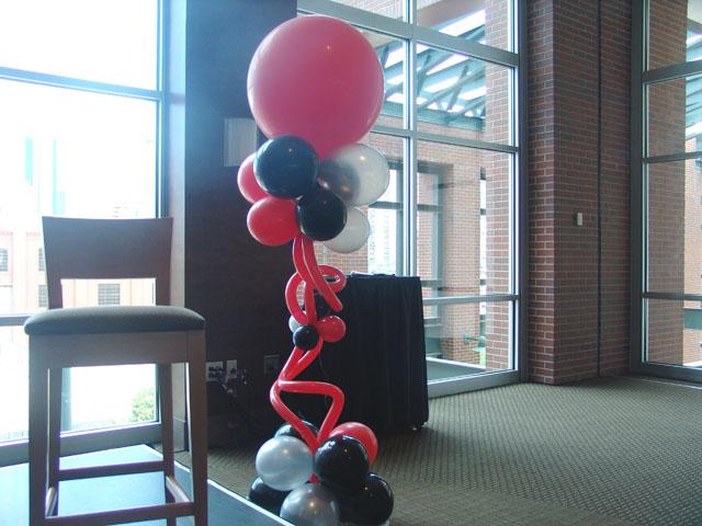 Coors Field Denver balloon columns