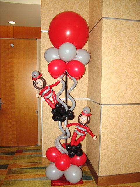 ohio buckeyes balloons ritz carlton denver