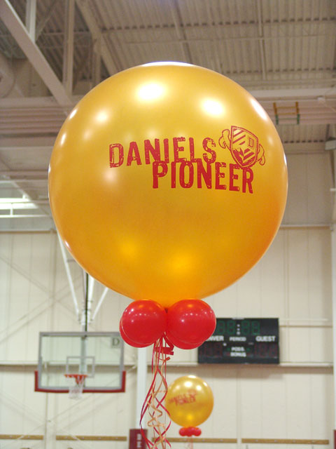 large custom printed college balloons