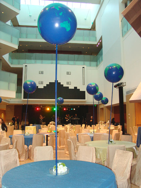 special global balloons centerpieces denver