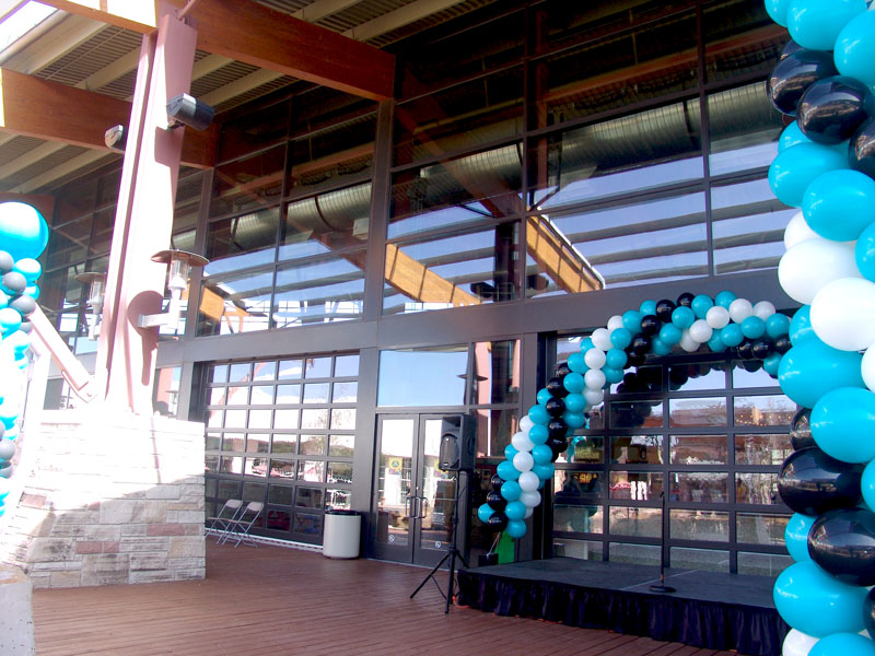 special balloon columns and cool balloon arch denver