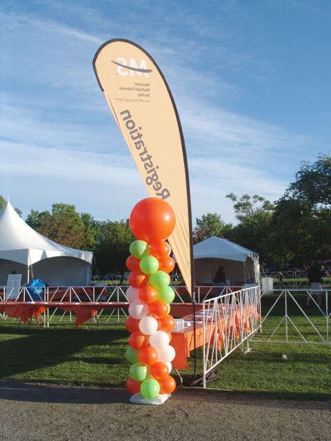 colorado balloon tower for MS soceity