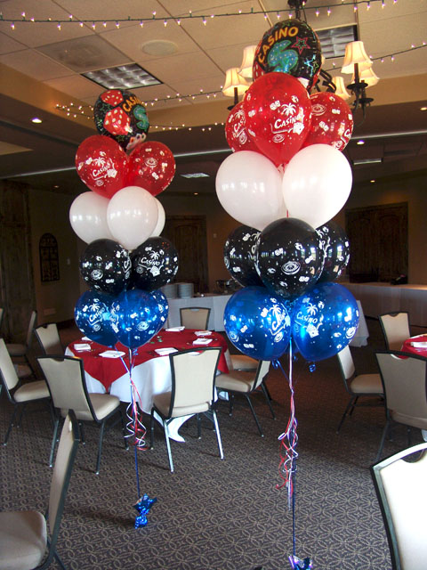 casino balloon bouquets denver