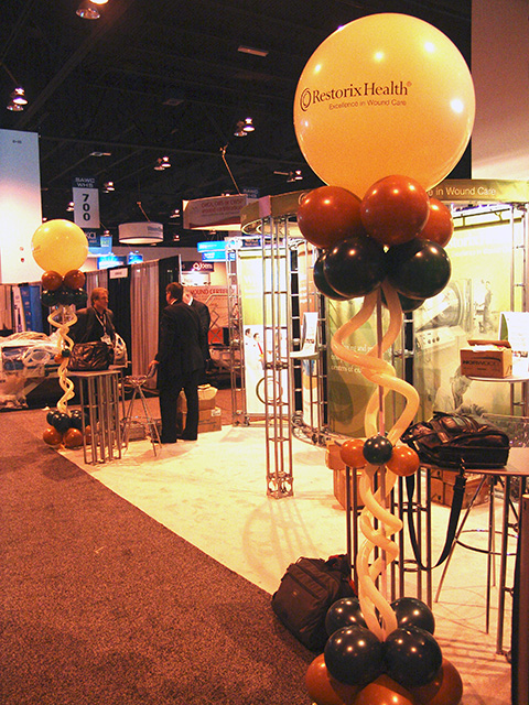 custom logo balloons convention promotion