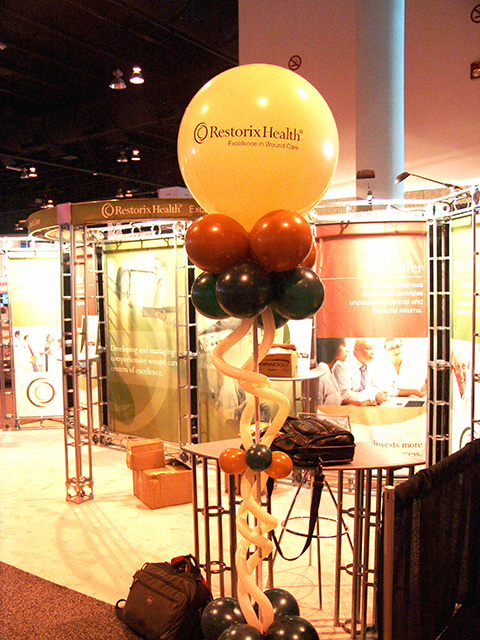 custom logo balloons convention promotional