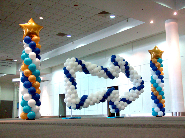 custom balloon decorations Denver Convention Center