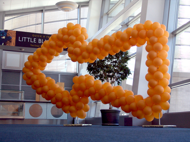 custom balloon sculpture Denver Convention Center