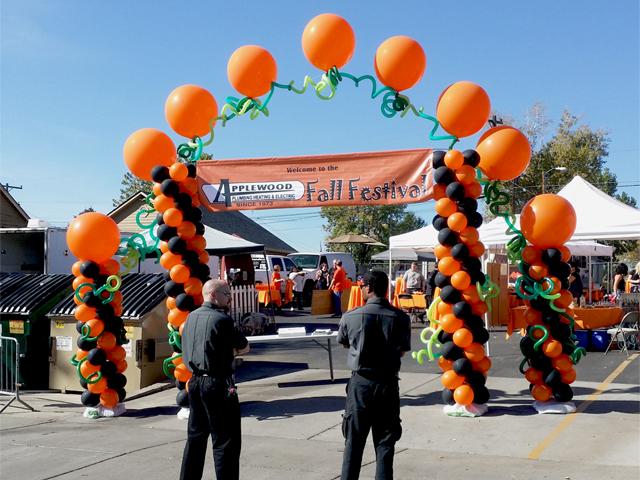 fall festival balloons